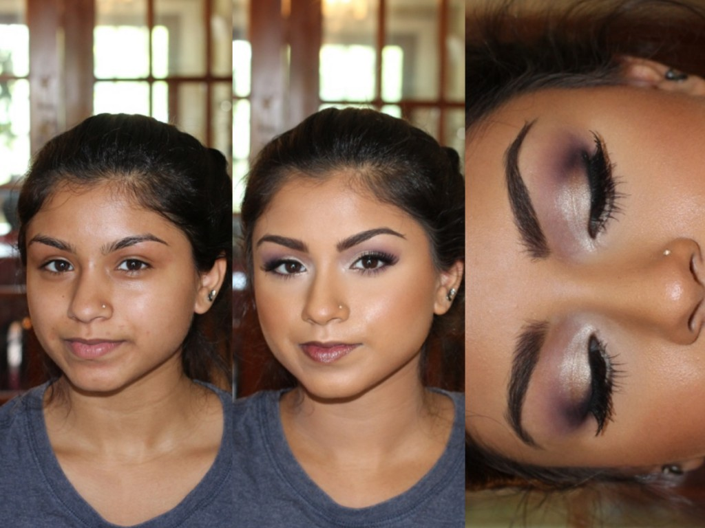 Mobile prom makeup artist