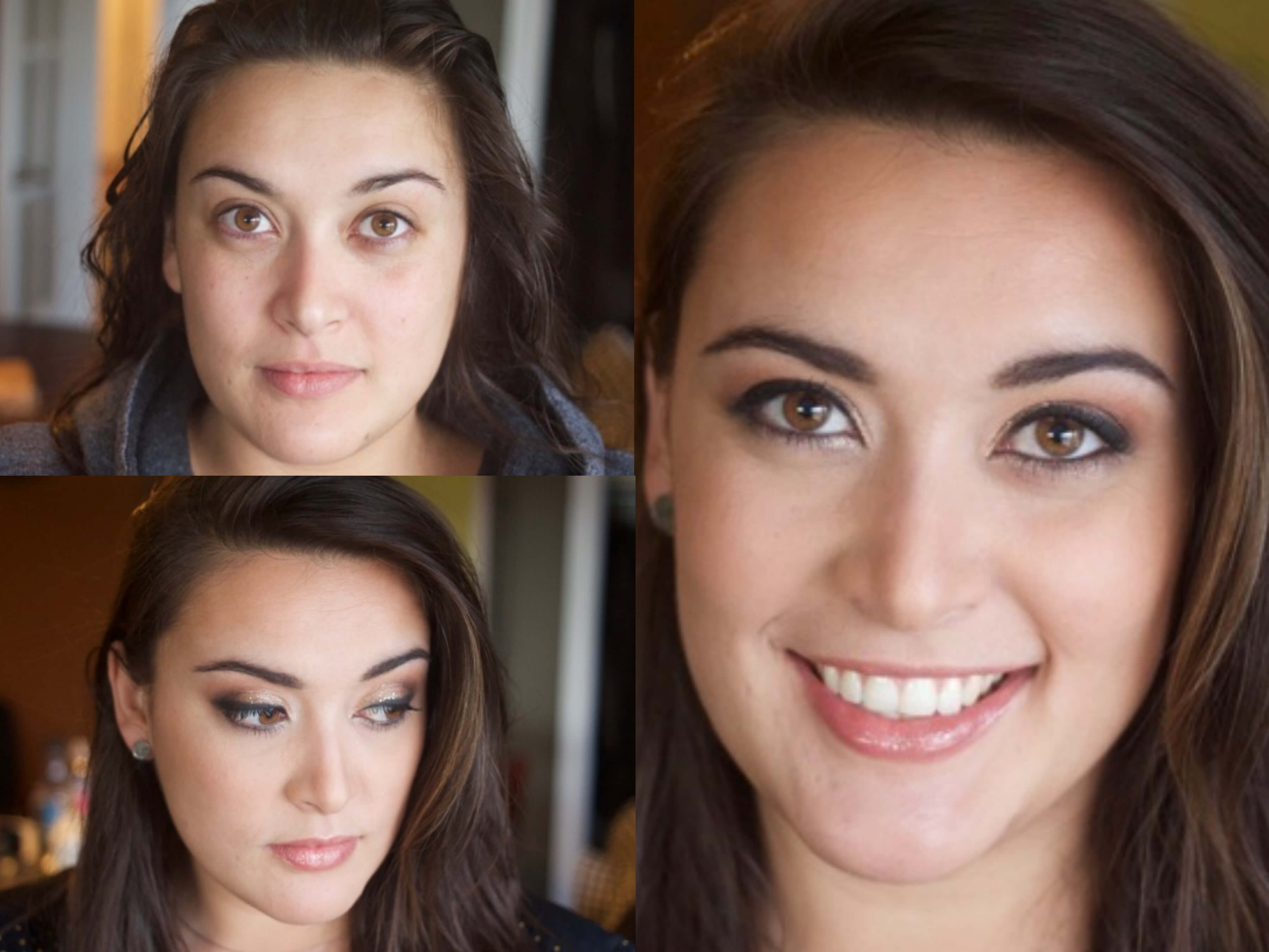 Before And After Makeup Modern