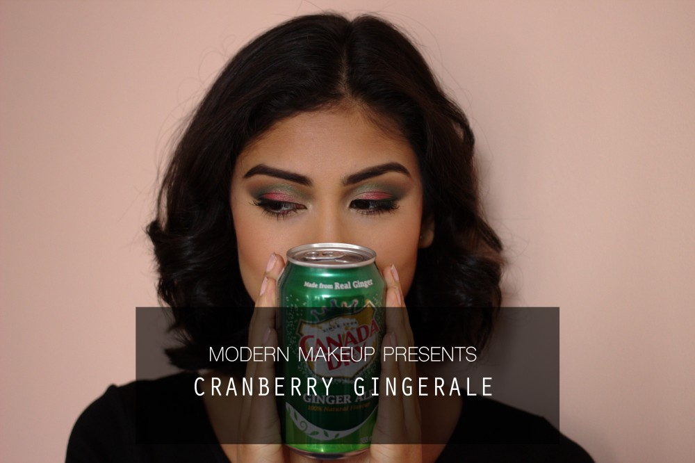 "12 Days of Christmas – Day 1 – ""Cranberry Gingerale"""