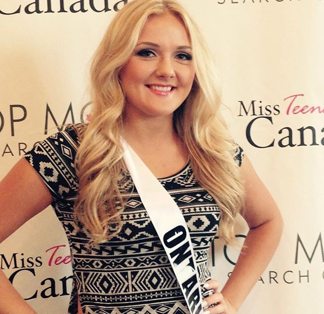 Miss Teenage Canada Makeup