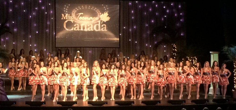 Top Model Search Canada & Miss Teenage Canada 2016 Sponsored by Modern Makeup