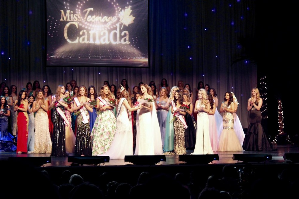 MISS TEENAGE CANADA 2016