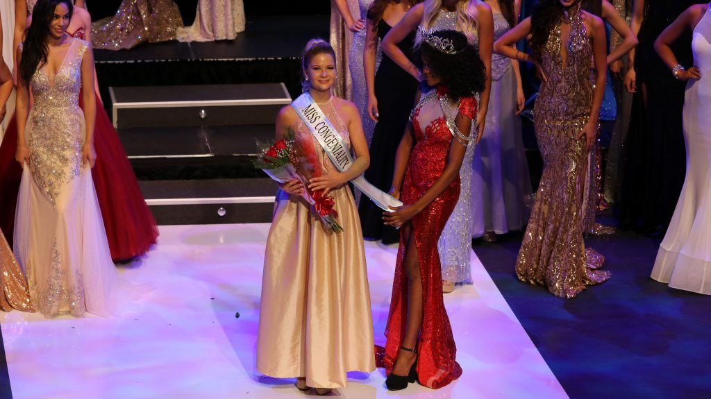 Kansas King wins miss congeniality