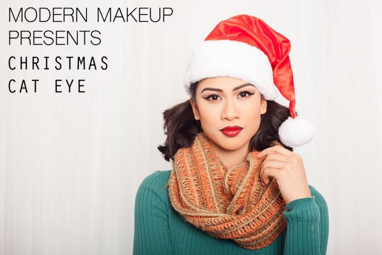 "12 Days of Christmas – Day 10 – ""Christmas Cat Eye"""