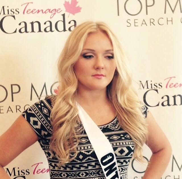 Miss Teenage Canada Makeup