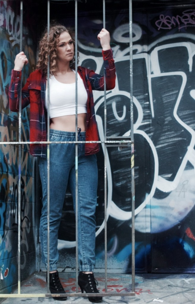 Graffiti Alley Photo Shoot