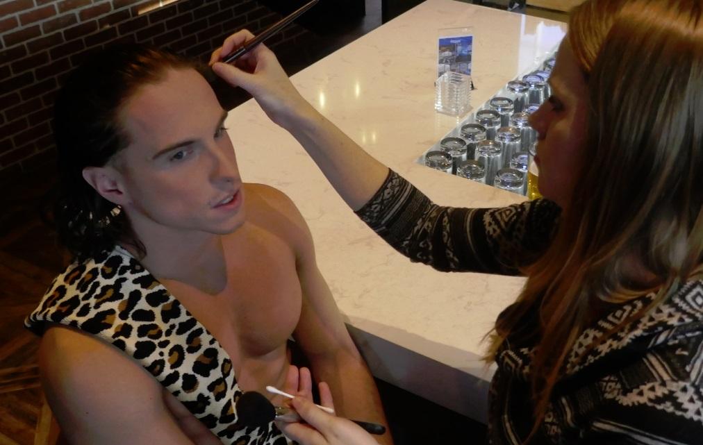 modern makeup artist